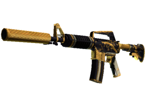 weapon m4a1 silencer gs m4a1s snakebite gold light large.574ace77e1044dbf3a387f200b2867332e974f70 300x225 - 暗影武器箱